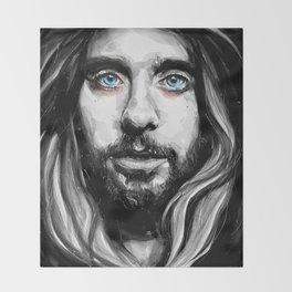 Jared Leto Throw Blanket