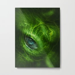 Blue Eye 2 Metal Print