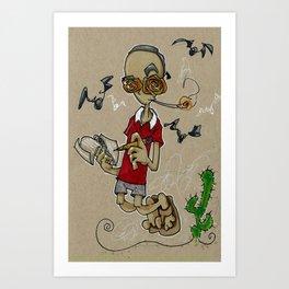 O GONZO!  Art Print