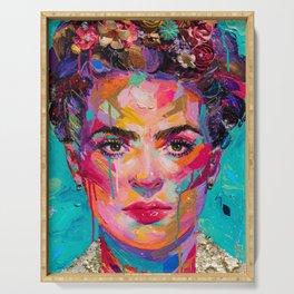 FRIDA Kahlo painting Serving Tray