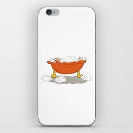 Bath Time iPhone Skin