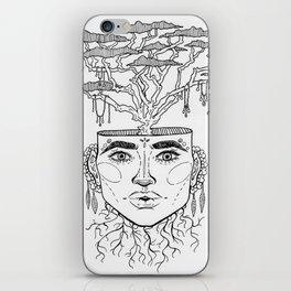 Tree Brain iPhone Skin