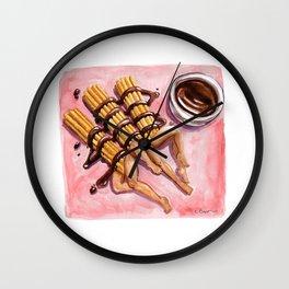 Churro Trio Wall Clock