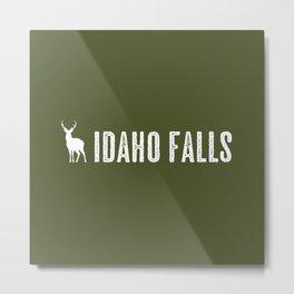 Deer: Idaho Falls, Idaho Metal Print