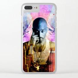 Rakim TheGod MC Clear iPhone Case