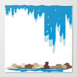 Waterfall by FreddiJr Canvas Print