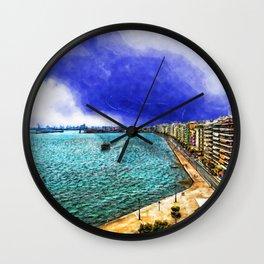 Thessaloniki 3 Wall Clock