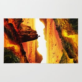 Lava Isolation Rug