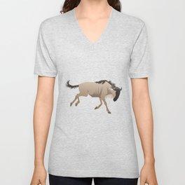 Wildebeest Unisex V-Neck