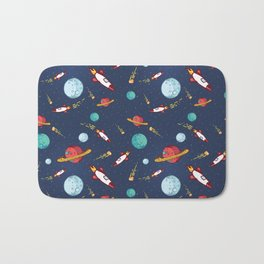 Outer space Bath Mat