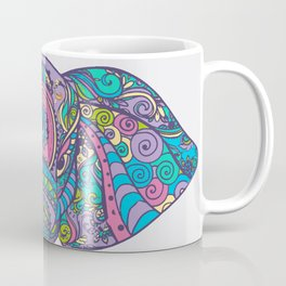 Elephant in Colors Coffee Mug