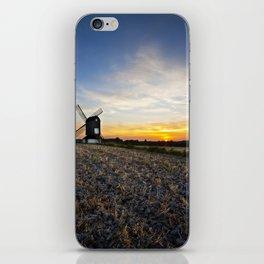 Windmill Sunset iPhone Skin