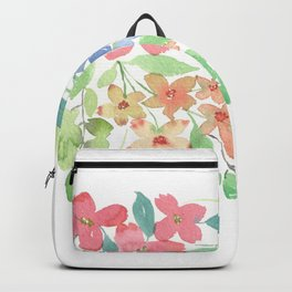 Cluster of flowers Backpack
