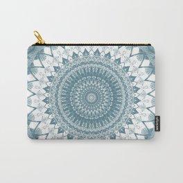 Boho Blue Mandala Carry-All Pouch