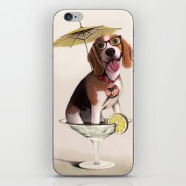Tessi the party Beagle iPhone Skin