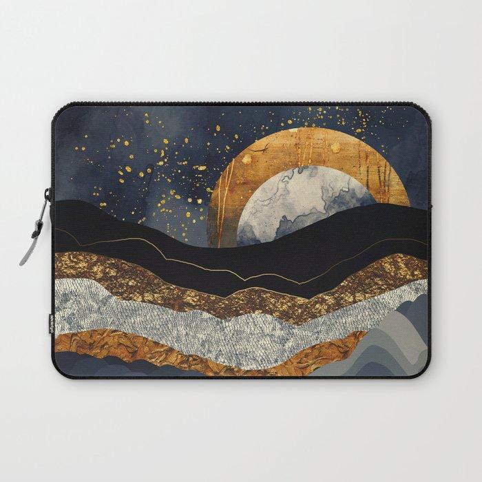 Metallic Mountains Laptop Sleeve