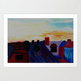 Heaton Art Print