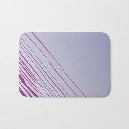Design lines, exotic pink Bath Mat