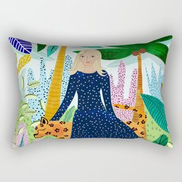 Safari #society6 #decor #buyart Rectangular Pillow