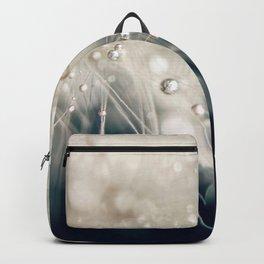 dandelion evening blue Backpack