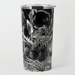 THE DEVIL of Tarot Cats Travel Mug