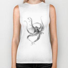 Giant Octopus Biker Tank