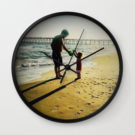 Daddy and Me Wall Clock