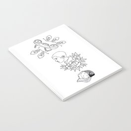 Science Fiction Character Illustration Notebook
