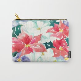 Poinsettia Cheer Carry-All Pouch