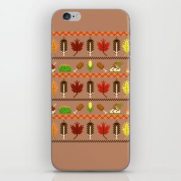 Ugly Thanksgiving Sweater iPhone Skin