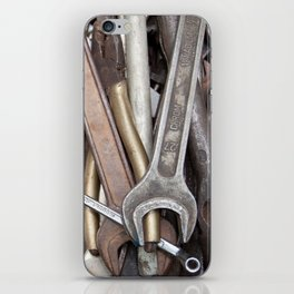 old tools iPhone Skin