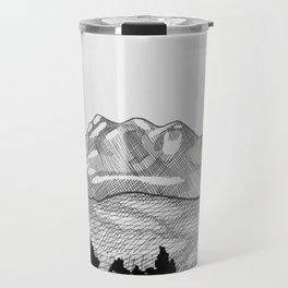 Colorado Mountains Travel Mug