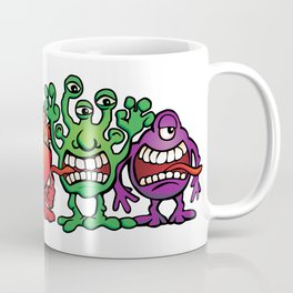 Alien Friends Coffee Mug
