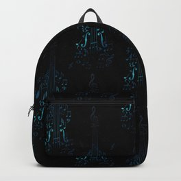 Creative violin silhouette Backpack