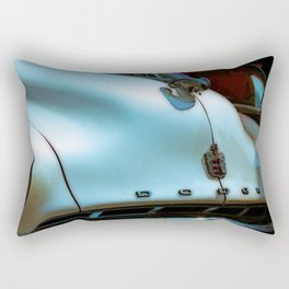 Dodge Vintage Hood-Poster Rectangular Pillow