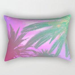 Groovy Palm Trees Rectangular Pillow