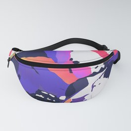 The purple color is turning peachy Fanny Pack