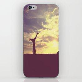 Cartwheel  iPhone Skin