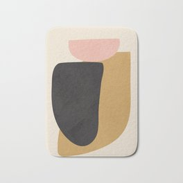 Abstract Shapes 34 Bath Mat