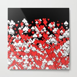 Poker Star II Metal Print