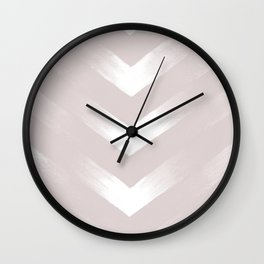 Blush Point Wall Clock