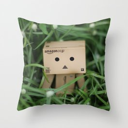 Danbo Throw Pillow