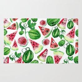Wild watermelon Rug