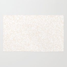 Tiny Spots - White and Linen Rug