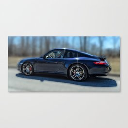 Porsche 911 - 997 Classic Car Canvas Print