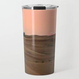 Arabian Desert Sunset Travel Mug