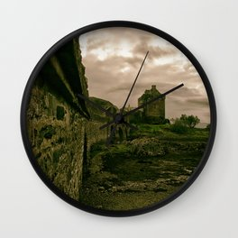 Eilean Donan Castle, Kyle of Lochalsh, Scotland Wall Clock