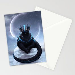 Ice Dragon Stationery Cards