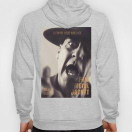 Full Metal Jacket, Stanley Kubrick, alternative movie poster, minimalist print, Vietnam War, Marines Hoody
