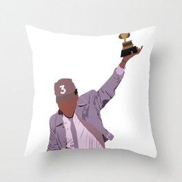 Chance the Rapper - Grammy Throw Pillow